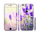 The Lavender Flower Bed Sectioned Skin Series for the Apple iPhone 6s