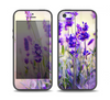 The Lavender Flower Bed Skin Set for the iPhone 5-5s Skech Glow Case