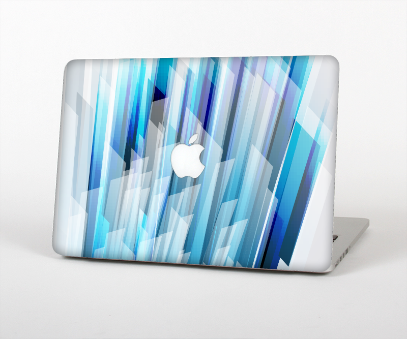 "The Layered Blue HD Strips Skin Set for the Apple MacBook Pro 15"" with Retina Display"