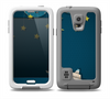 The Layered Paper Night Ship with Gold Stars Skin for the Samsung Galaxy S5 frē LifeProof Case
