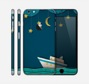 The Layered Paper Night Ship with Gold Stars Skin for the Apple iPhone 6 Plus