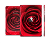 The Layered Red Rose Skin Set for the Apple iPad Mini 4