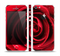The Layered Red Rose Skin Set for the Apple iPhone 5