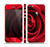 The Layered Red Rose Skin Set for the Apple iPhone 5s