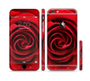 The Layered Red Rose Sectioned Skin Series for the Apple iPhone 6