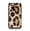 The Leopard Furry Animal Hide Apple iPhone 6 Otterbox Symmetry Case Skin Set