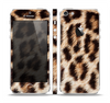 The Leopard Furry Animal Hide Skin Set for the Apple iPhone 5