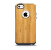 The Light Bamboo Wood Skin for the iPhone 5c OtterBox Commuter Case