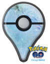 The Light Blue Cratered Moon Surface Pokémon GO Plus Vinyl Protective Decal Skin Kit