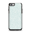 The Light Blue Floral Branches Apple iPhone 6 Otterbox Symmetry Case Skin Set