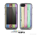 The Light Color Planks Skin for the Apple iPhone 5c LifeProof Case