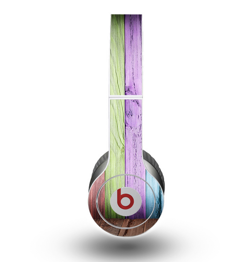 The Light Color Planks Skin for the Beats by Dre Original Solo-Solo HD Headphones