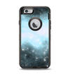 The Light & Dark Blue Space Apple iPhone 6 Otterbox Defender Case Skin Set