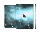 The Light & Dark Blue Space Full Body Skin Set for the Apple iPad Mini 3