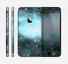 The Light & Dark Blue Space Skin for the Apple iPhone 6