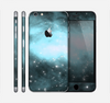 The Light & Dark Blue Space Skin for the Apple iPhone 6 Plus