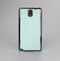 The Light Green Scratched Stripe Pattern v4 Skin-Sert Case for the Samsung Galaxy Note 3