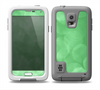 The Light Green Unfocused Orbs Skin for the Samsung Galaxy S5 frē LifeProof Case