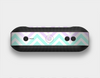 The Light Teal & Purple Sharp Black Chevron Skin Set for the Beats Pill Plus