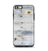 The Light Tinted Wooden Planks Apple iPhone 6 Plus Otterbox Symmetry Case Skin Set
