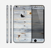 The Light Tinted Wooden Planks Skin for the Apple iPhone 6 Plus