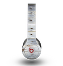 The Light Tinted Wooden Planks Skin for the Beats by Dre Original Solo-Solo HD Headphones