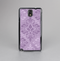 The Light and Dark Purple Floral Delicate Design Skin-Sert Case for the Samsung Galaxy Note 3