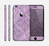The Light and Dark Purple Floral Delicate Design Skin for the Apple iPhone 6