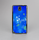 The Lime Green & Blue Unfocused Cells Skin-Sert Case for the Samsung Galaxy Note 3