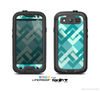 The Locking Green Pattern Skin For The Samsung Galaxy S3 LifeProof Case