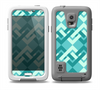 The Locking Green Pattern Skin for the Samsung Galaxy S5 frē LifeProof Case