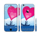 The Love-Sail Heart Trip Sectioned Skin Series for the Apple iPhone 6s