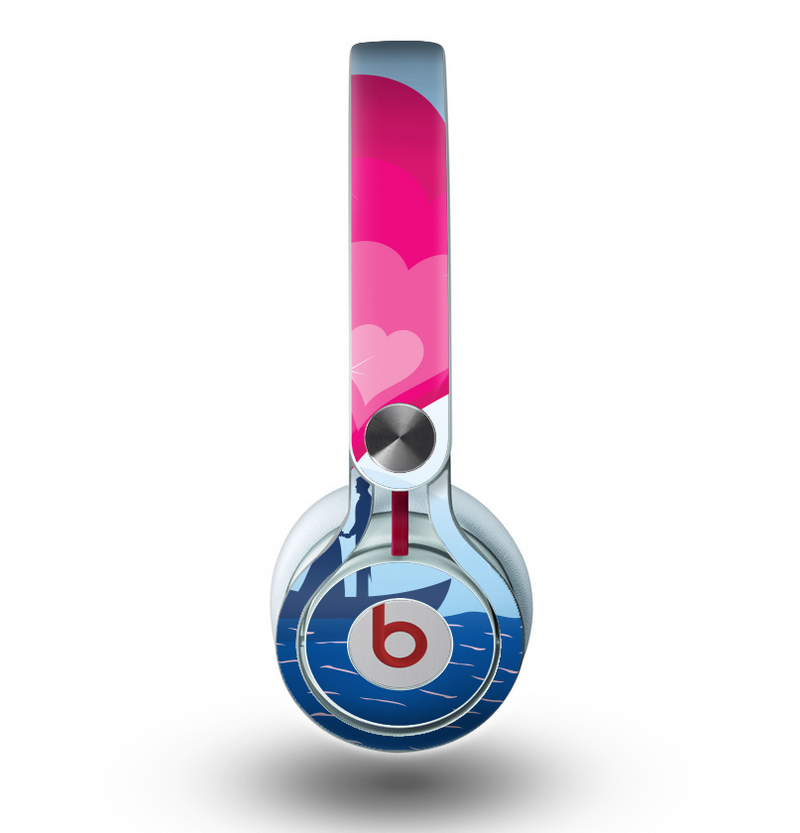 The Love-Sail Heart Trip Skin for the Beats by Dre Mixr Headphones