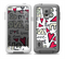 The Love and Hearts Doodle Pattern Skin for the Samsung Galaxy S5 frē LifeProof Case