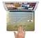 "The Love beach Sand Skin Set for the Apple MacBook Pro 15"" with Retina Display"