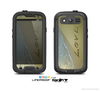 The Love beach Sand Skin For The Samsung Galaxy S3 LifeProof Case