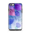 The Magical Abstract Pink & Blue Floral Apple iPhone 6 Plus Otterbox Symmetry Case Skin Set