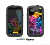 The Magical Glowing Floral Design Skin For The Samsung Galaxy S3 LifeProof Case