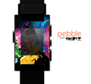 The Magical Glowing Floral Design Skin for the Pebble SmartWatch
