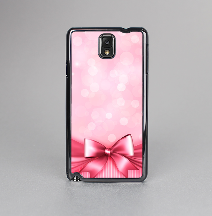 The Magical Pink Bow Skin-Sert Case for the Samsung Galaxy Note 3