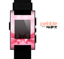 The Magical Pink Bow Skin for the Pebble SmartWatch