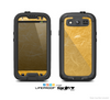 The Messy Golden Strands Skin For The Samsung Galaxy S3 LifeProof Case