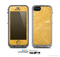 The Messy Golden Strands Skin for the Apple iPhone 5c LifeProof Case