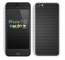 The Metal Grill Mesh Skin for the Apple iPhone 5c