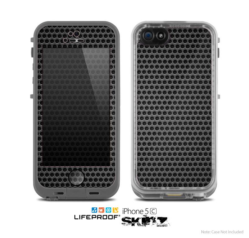 The Metal Grill Mesh Skin for the Apple iPhone 5c LifeProof Case