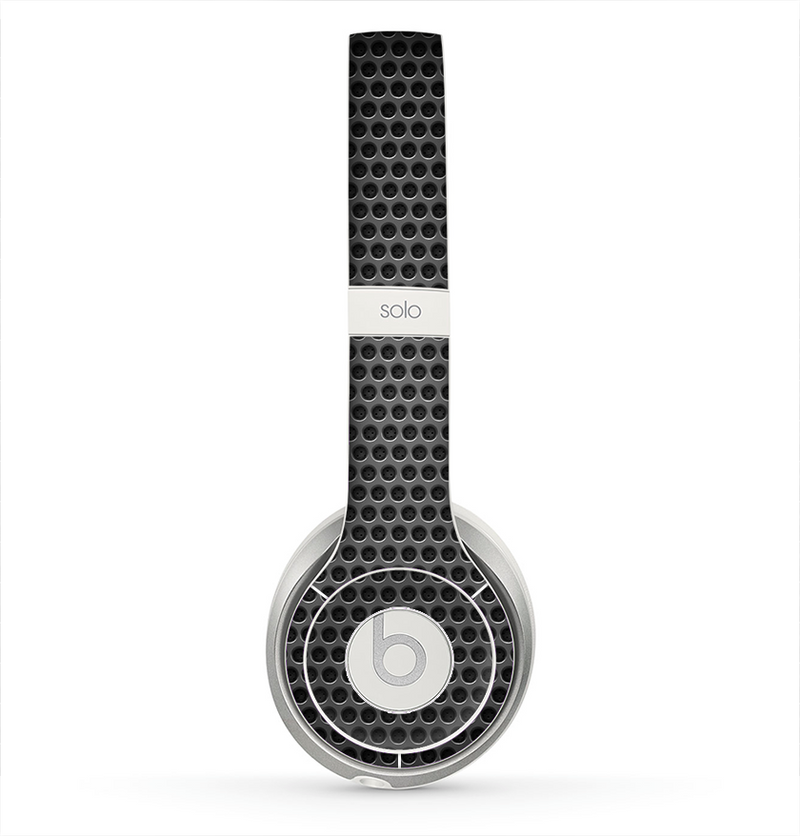 The Metal Grill Mesh Skin for the Beats by Dre Solo 2 Headphones