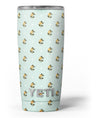 The_Micro_Daisy_and_Mint_Polka_Dot_Pattern_-_Yeti_Rambler_Skin_Kit_-_20oz_-_V3.jpg