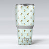 The_Micro_Daisy_and_Mint_Polka_Dot_Pattern_-_Yeti_Rambler_Skin_Kit_-_30oz_-_V1.jpg