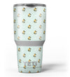 The_Micro_Daisy_and_Mint_Polka_Dot_Pattern_-_Yeti_Rambler_Skin_Kit_-_30oz_-_V3.jpg