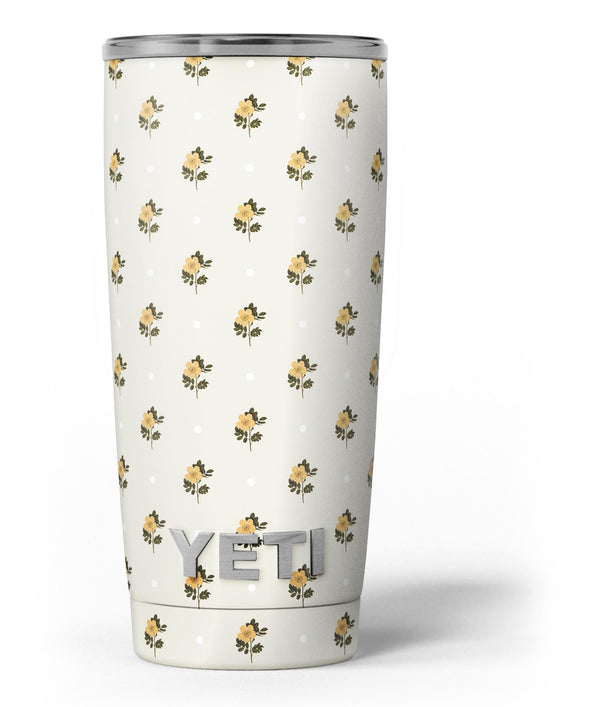 The_Micro_Daisy_and_Polka_Dot_Pattern_-_Yeti_Rambler_Skin_Kit_-_20oz_-_V3.jpg